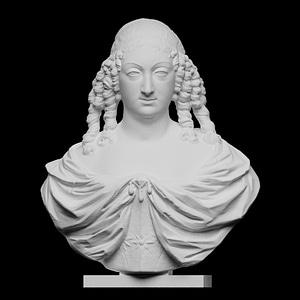 Marie Louise Gonzaga 3D Model