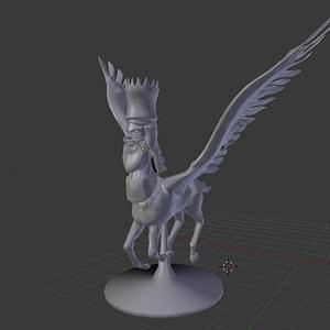 Shedu 3D Model