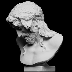 Christ on the Crucifix 3D Model