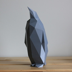 Low Poly Penguin 3D Model