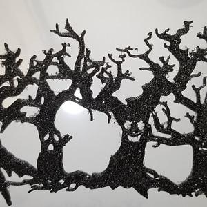 Creepy Halloween Tree Silhouette3Dモデル