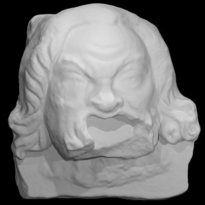 Theatrical Mask 7 3D Model