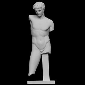 Statue of a young athlete (The Westmacott Athlete) 3D Model