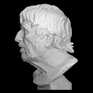 Pseudo-Seneca, Portrait of Hesiod 3D Model