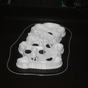 Snowman cookie cutter 3D Model