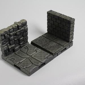 OpenLOCK Cut-Stone Walls 3D Model