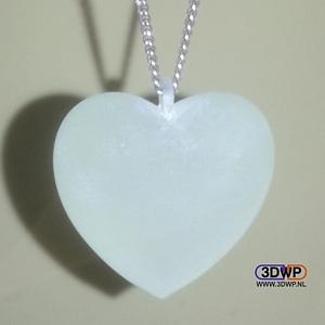 Heart Pendant 3D Model