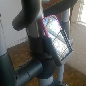 Excersize Machine Phone Holder 3D Model
