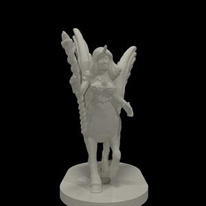 Cloudfolk Mage 3D Model