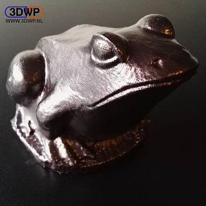 Frog Sculpture 3D Model