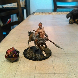 Centaur for tabletop gaming 3D Model