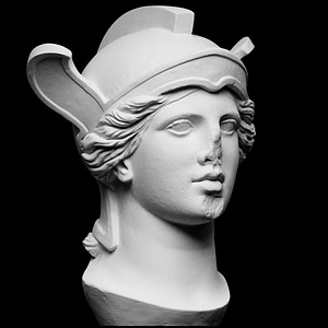 Head of Athena Parthenos 3D Model