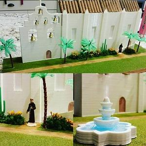 Mission San Gabriel Archangel Project 3D Model