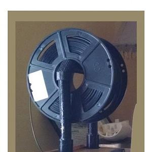Stanchion Filament Spool Holder 3D Model