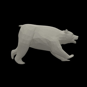 Bear for Tabletop Gaming 3D Model