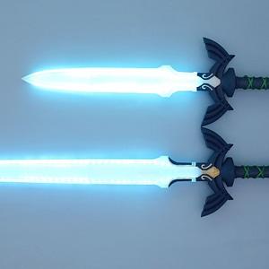 LED Zelda Master Sword 3D Model