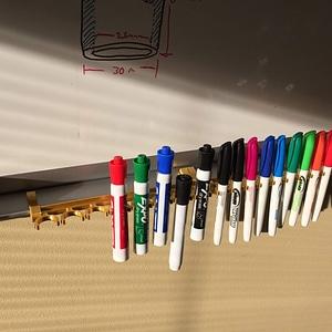Snappy Dry Erase Marker Holder 3D Model