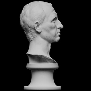 Julius Caesar 3D Model