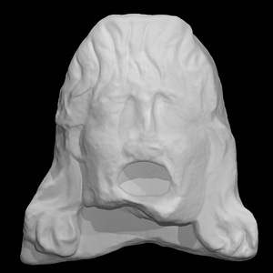Theatrical Mask 8 3D Model