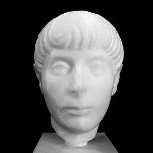 Head of a Young Man 3D Model