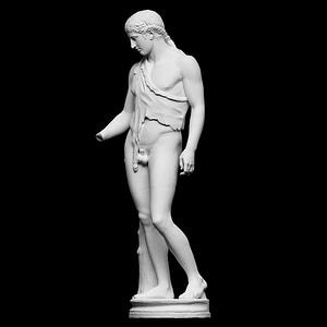 Dionysus of Tivoli 3D Model