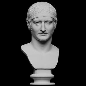 Drusus, Julian-Claudian prince 3D Model