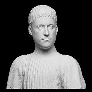 Portrait of Piero de' Medici 3D Model