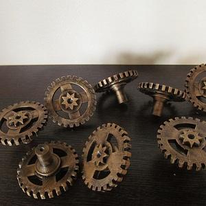 Steampunk Handles 3D Model