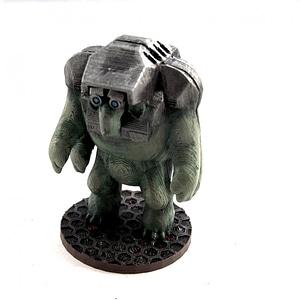 Olimyoo Pit-Slave (28mm Miniature) 3D Model
