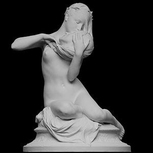 André Chenier's Muse 3D Model
