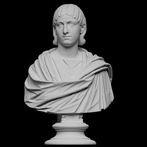 Bust of Julia Mamaea 3D Model