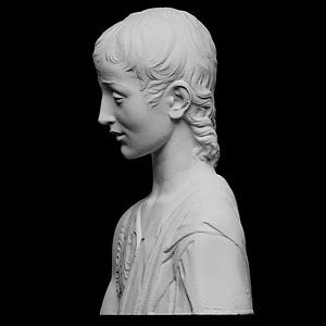 John the Baptist as a boy 3D Model