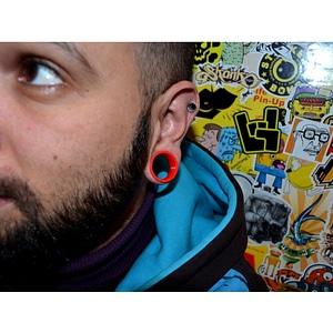 Customizable Ear Plug 3D Model