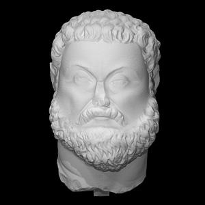 Head of Emperor Maximian 3D Model