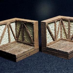 Tudor Corner 3D Model