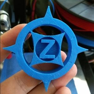 "Printrbot Simple Metal ""Z-StarSpike"" Feedwheel 3D Model"