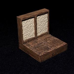 Tudor Walls 3D Model