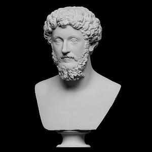Portrait of Marcus Aurelius 3D Model