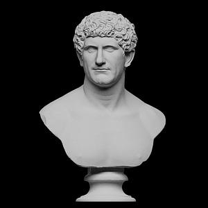 Portrait of a Marcus Antonius 3D Model