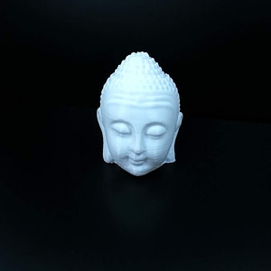 Buddha Head 3D Model
