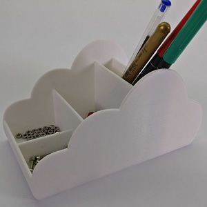 Cloud desk organizer 3D Model