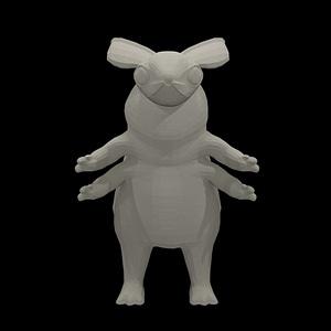 Mothfolk 3D Model