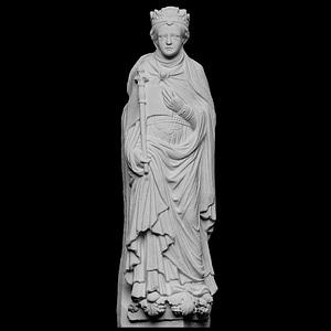 Standing Woman, Ecclesia or Bathsheba 3D Model