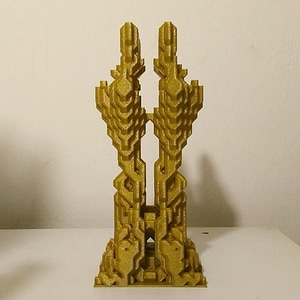 Conway's World Towers 3D Model