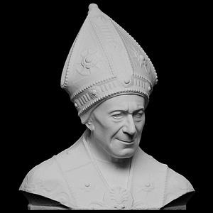 Portrait of Bishop Leonardo Salutati 3D Model