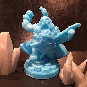 Dwarf Rockstar 3D Model