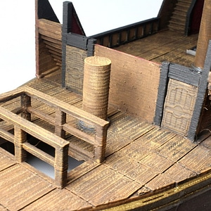 Pirate Ship Deck 3D Model