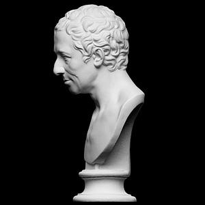 Portrait of JJ Winckelmann 3D Model