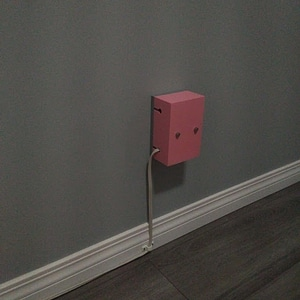 Outlet cover for wall warts 3D Model