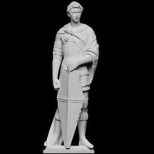 Saint George 3D Model